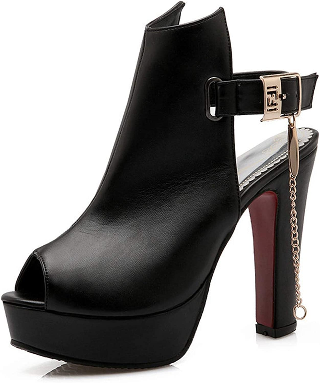 Women Sandals 11.5cm Ultra high Heels Platform shoes Gladiator Sandals peep Toe Lady shoes