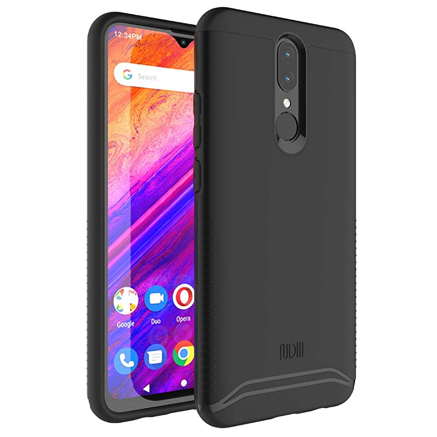 BLU G9 Case, TUDIA [Merge Series] Heavy Duty Extreme Dual Layer Slim Precise Cutouts Phone Case for BLU G9 (Matte Black)