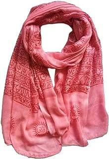 KVR OM AUM Krishna Buddha Ganesha Shiva yoga spiritual auspicious Pooja Hindu Religious Indian prayer scarf