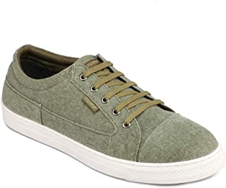 FURO by Red Chief Olive Canvas Sneaker for Men SNM113 124