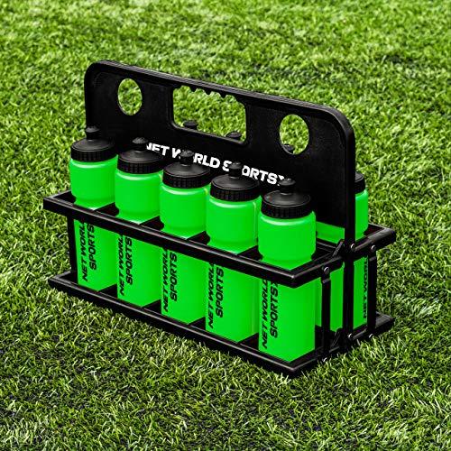 FORZA 10 Borracce e Portaborracce [750 ml] - Plastica Senza BPA [9 Colore] (Verde)