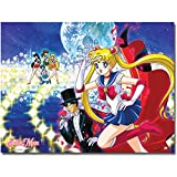 Great Eastern Entertainment Sailormoon Palace Group Wall Scroll, 33 by 44-Inch