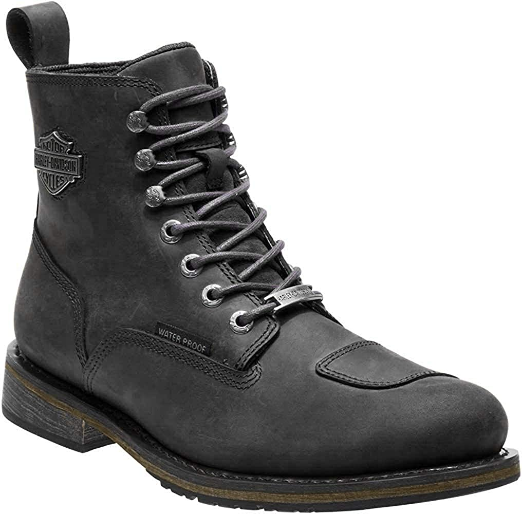 Outlet ☆ Free Shipping Harley-Davidson Men's Clancy Waterproof Motorcycl Black San Antonio Mall or Brown
