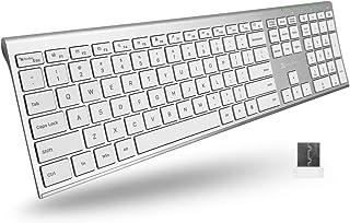 X9 Performance Slim Wireless Keyboard for Laptop | Rechargea