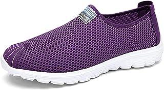 FZDX Chaussures décontractées pour Les Hommes légères Respirantes Maille Chaussures Confortables