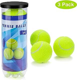 Philonext Pelotas de Tenis, 3 Unidades Set de Pelotas de Tenis Duras, para Juegos en Todas Las áreas, para un Uso Constante Aprende aJugar Al Tenis y al Ejercicio, Tenistas