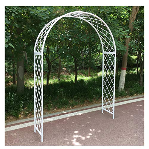 Garden Large Metal Decorative Garden Trellises - Garden Trellis Climbing Plant Support Frames for Climbing Plants Outdoor Backyard