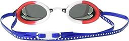 Red/White/Blue/Grey/Grey Mirrored