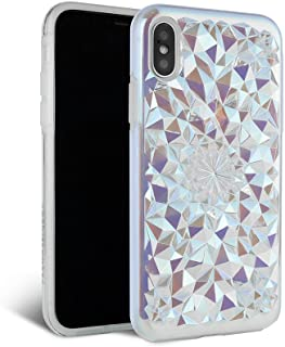 iPhone Xs Max Case - FELONY CASE - Clear Cosmic Kaleidoscope CASE - 3D Geometric 360° Shock Absorbing Protective iPhone X...