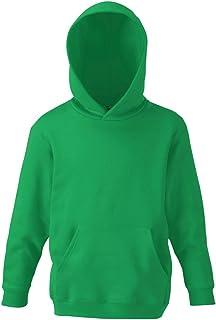 Fruit Of The Loom Childrens Unisex Hooded Sweatshirt/Hoodie