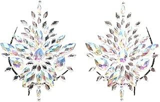 Iridescent Festival Pasties Rhinestone Jewels Rave