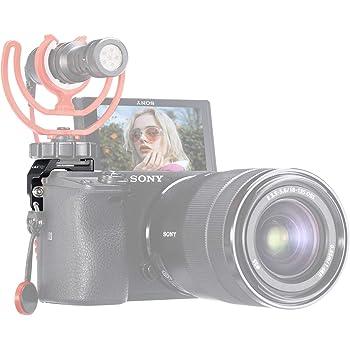 Adaptador de montaje de zapata para cámara Sony a37//a35//a33//65 DC//Digital Video Audio Micrófono Mic