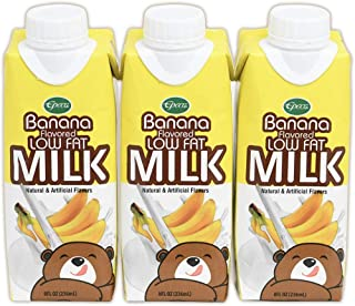 Epoca Banana Flavored Lowfat Milk 6 Pack, rBST Free Milk, Aseptic Package-Storage at room Temperature (10 months), Product...