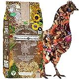 ChickenGold Hühner Premium Futter 2x10kg - ohne Gentechnik - mit Kräutern, Gemüse & Grit