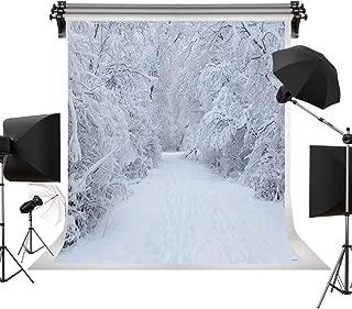 Kate 10x10ft/3x3m Holiday White Snow Backdrop Photography White Frozen Tree Winter Background Children Photo Backdrops Christmas Backdrops