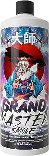 GRAND MASTER SMOKE (グランド マスター スモーク) (32オンス) 浸して洗浄 生分解性フォーミュラ - ボングクリーナー / ガラスパイプ & 水タバコクリーナー - 殺菌 + 消臭 420&710のヘディーガラス...