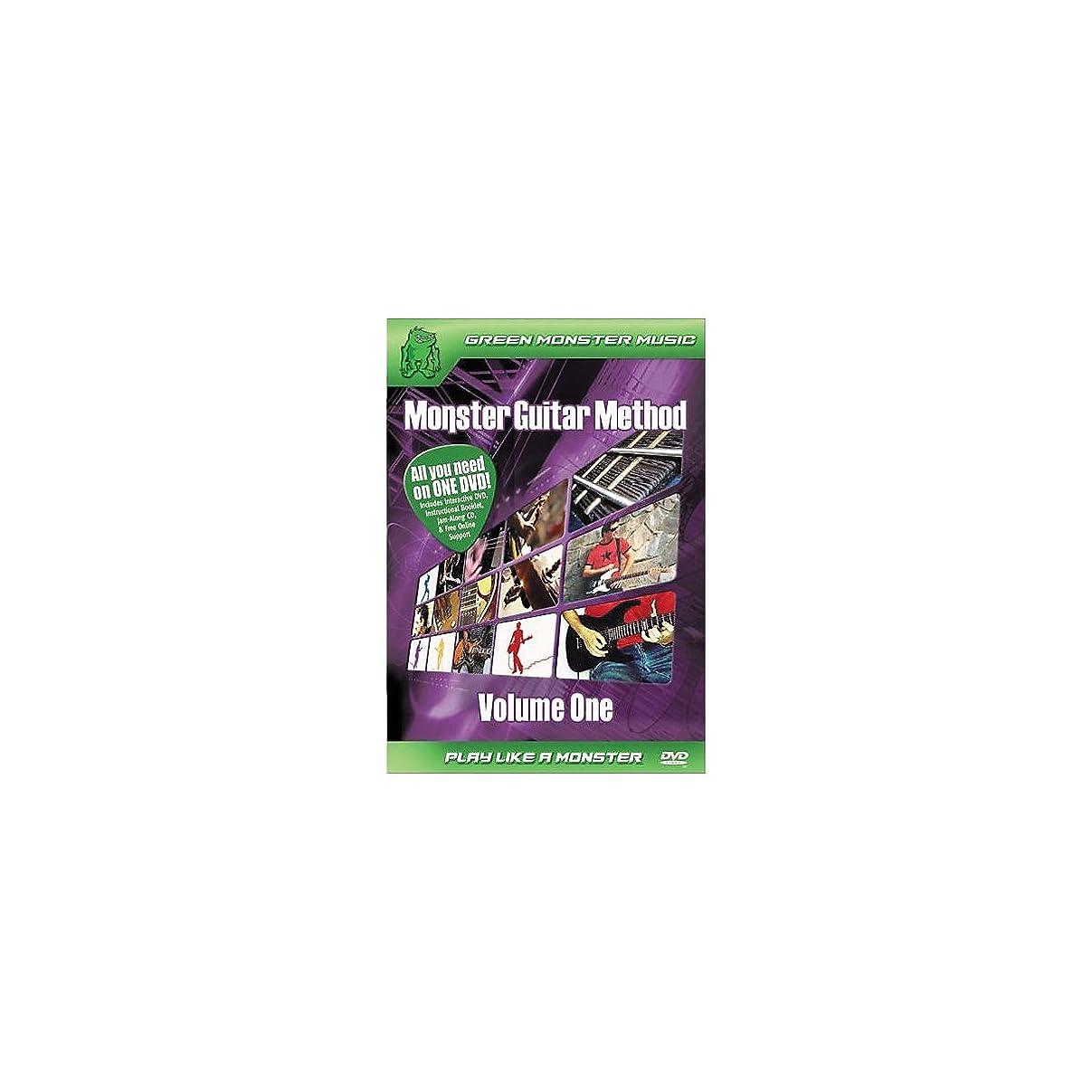 八百屋石膏ロゴAlfred 41-ARD27256 Monster Guitar Method- Volume 1 - Music Book