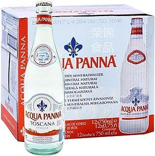 Acqua Panna普娜天然矿泉水 750ml*12瓶 意大利进口 保质期到2020年11月到期