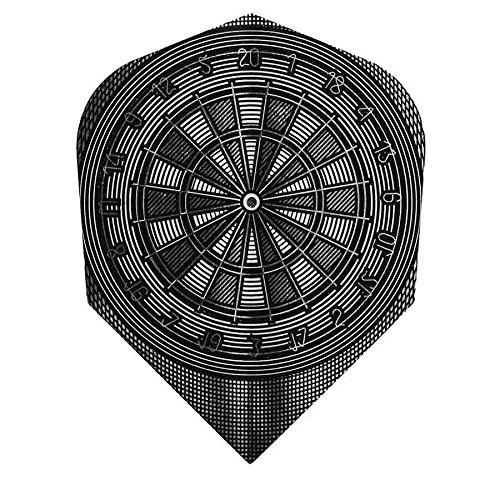 Pfeile Harrows Rahmen Standard Dartscheibe Graphit
