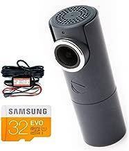 Goluk T3 Stone Gray Mini Wi-Fi Car Dash cam+ Hard Wire Kit + 32G SD Card Super Bundle,141 Wide Angle Car DVR Camera with G-Sensor, Loop Recording