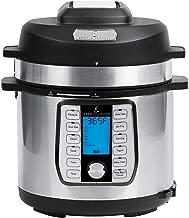Emeril Lagasse Pressure Cooker, Air Fryer, Steamer & All-in-One Multi-Cooker. Pressure & Crisper Lid, Glass Lid. Emeril Recipe Book. (8 QT With Accessory Pack)