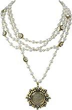 San Benito Cloister 6mm Magdalena - Gold + Pearl - VSA - Virgins Saints Angels Jewelry