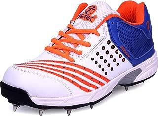 Feroc ADF Orange Cricket Spikes Shoes