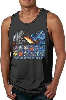 Kaiju Fighter Casual Fashion Men Tank Top Shirt