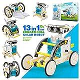 Gift for 6-12 Year Old Boys Kids,13-in-1 Solar Robotics Kit Gift for 8