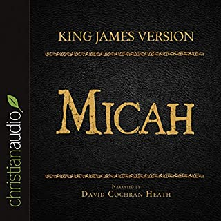 Holy Bible in Audio - King James Version: Micah cover art