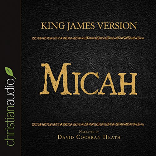 Holy Bible in Audio - King James Version: Micah audiobook cover art