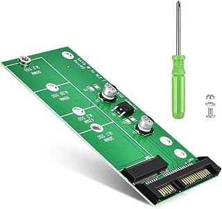 ELUTENG M.2 NGFF TO SATA 変換 アダプタ 2230/2242/2260/2280対応 M.2 NGFF SSD から SATA3.0 変換カード すべてのPCIE SSDに非対応 SATA3 6Gbps M.2 ハードド...