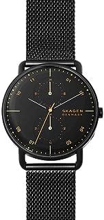 Skagen Horizont Men's Black Dial Stainless Steel Analog Watch - SKW6538