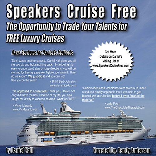 Speakers Cruise Free audiobook cover art