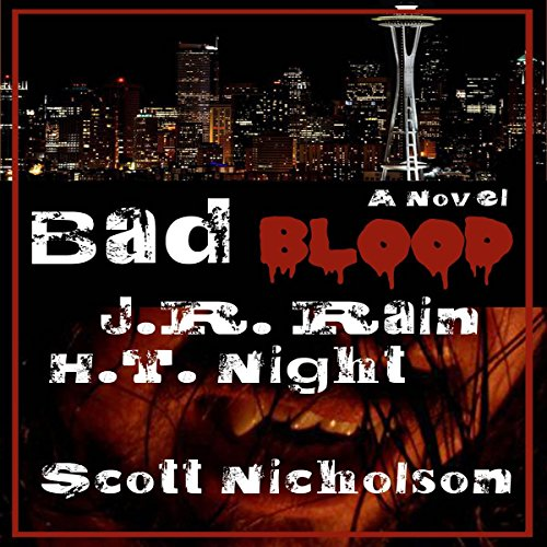 Bad Blood: A Vampire Thriller (The Spider Trilogy Book 1) audiobook cover art