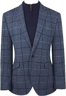 Men's Ensay Harris Tweed Jacket by Brook Taverner