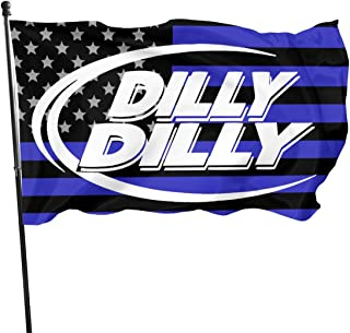 BQCHMBO Dilly Dilly Party Flag,Home Flag,Garden Flag,100% Polyester Flag,for Indoor/Outdoor