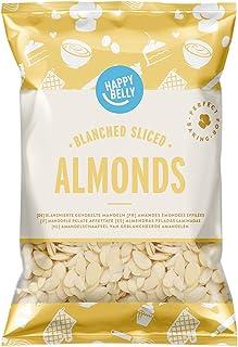 Marca Amazon - Happy Belly Almendras peladas laminadas 200gr x 5