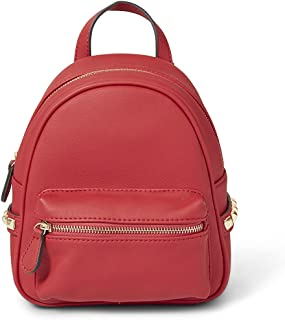 Intrinsic Mini Faux Leather Backpack Purse for Women and Teens Daypacks Casual