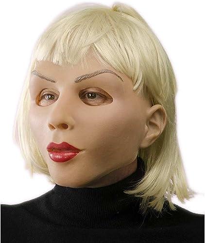 calidad auténtica Máscara Blonde and and and Beautiful Girl de látex  mejor reputación