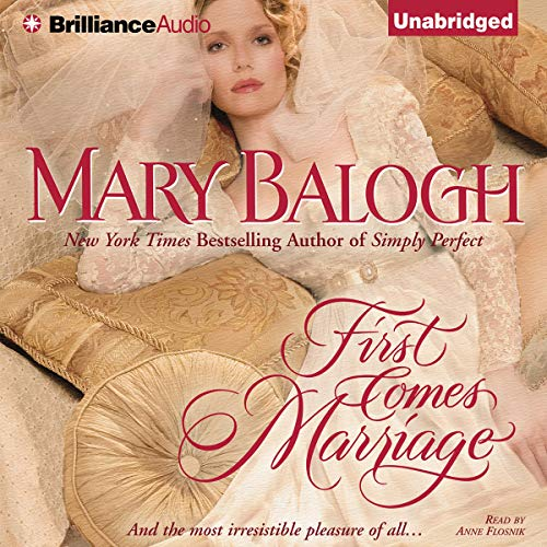 First Comes Marriage cover art