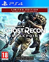Tom Clancy's Ghost Recon Breakpoint Limited Edition (PS4) by Ubisoft - Imported Game.