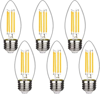 20 x 4W LED Candle Bulb Lightbulb Lamps Warm White 3000K SES ES BC 40W Equiv