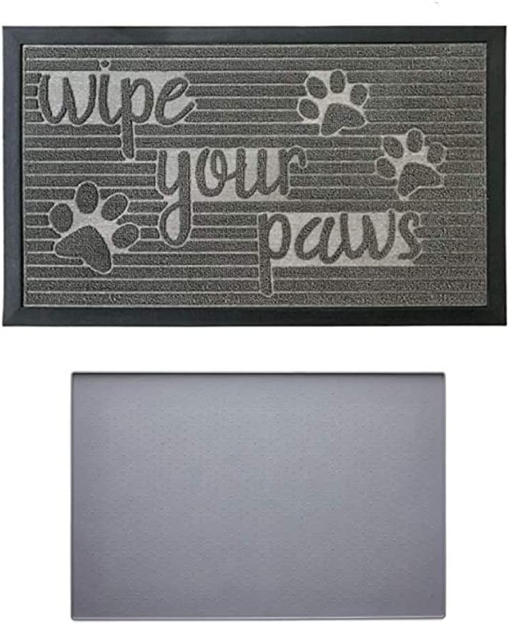 Gorilla Grip Limited time for free shipping Doormat and Pet Size 2 Placemat Feeding is Bombing free shipping