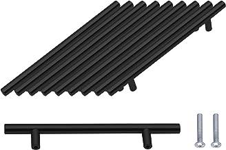 10 Stuks T-handgreep, Geborstelde Kastdeurgrepen Hardware Roestvrij Staal voor Keukenkasten Lade Meubels Handgrepen Gatenc...