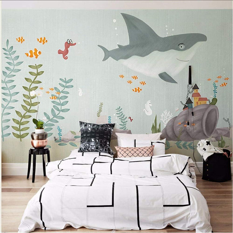 precioso Weaeo Original-Mano Whale Sea World 3D Cartoon Cartoon Cartoon Wallpaper Mural Para Baby Room 3D Cartoon Wall Mural 3D Mural Wall Papel Pegatinas-200X140Cm  Con precio barato para obtener la mejor marca.