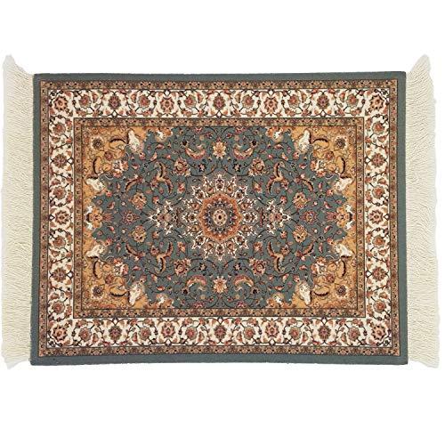 DESIGNMANUFAKTUR Teppich Mauspad Perser Mousepad orientalischer Teppich als Mousepad Mausunterlage - lustiges Büro Zubehör - Motiv 13