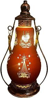 KESYOO Christmas LED Lantern Oil Burning Lamp Christmas Holiday Desktop Ornament for Christmas Party Decoration