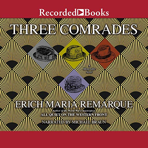 Three Comrades audiobook cover art