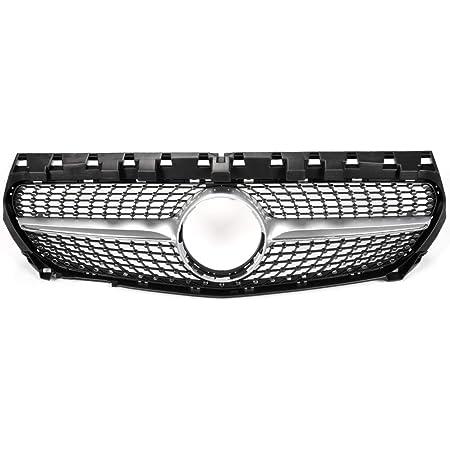 For Mercedes W117 CLA Class Front Bumper Grill Mesh CLA180 CLA200 CLA250 CLA45 AMG 2013-2015 Silver